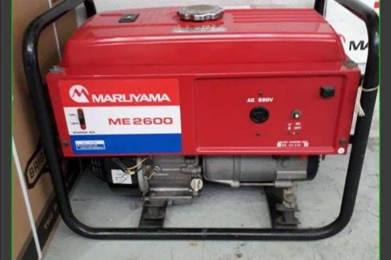 POWER PRO & MARUYAMA Generators Petrol/Diesel Other