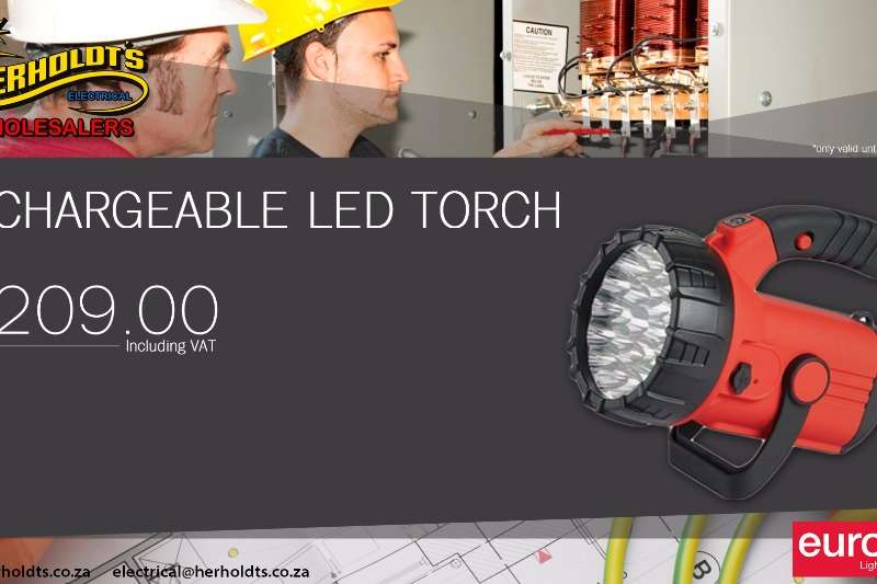 RECHERABLE LED TORCH Other