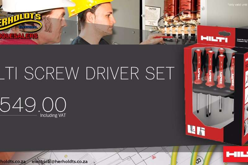SCREW DRIVER SET Other