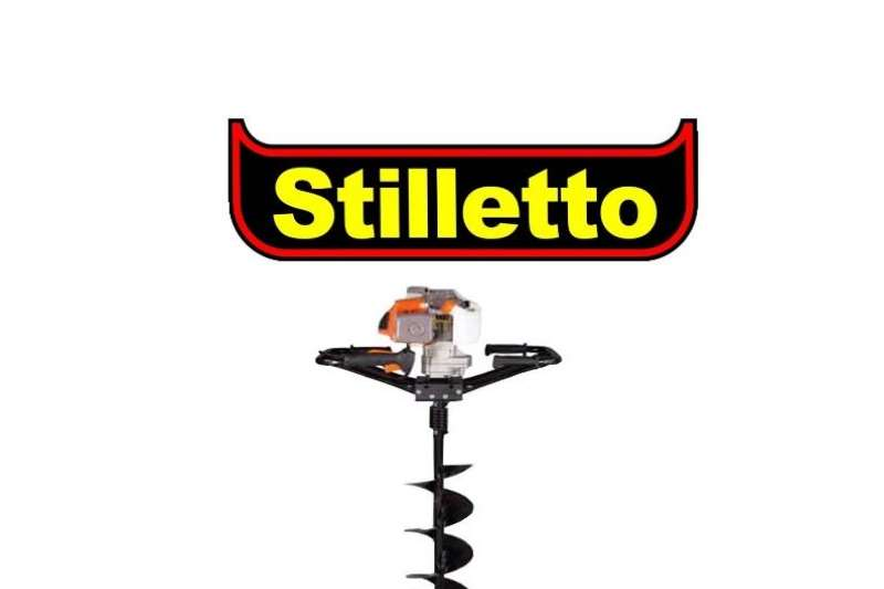 Stilletto Earth Auger with 100mm Drill Bit Other