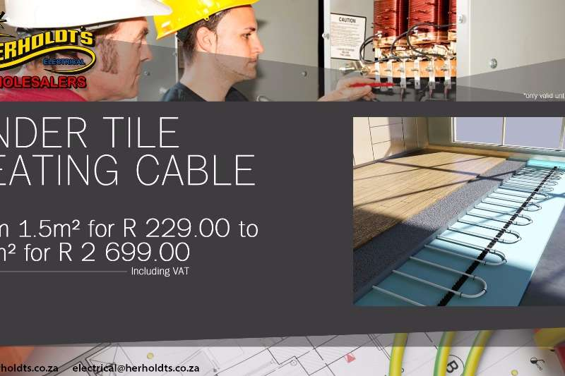 UNDER TILE HEATING CABLE Other