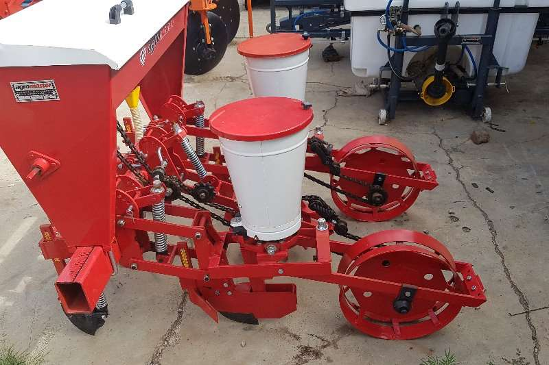 Bell Agromaster 2 row planter Planters