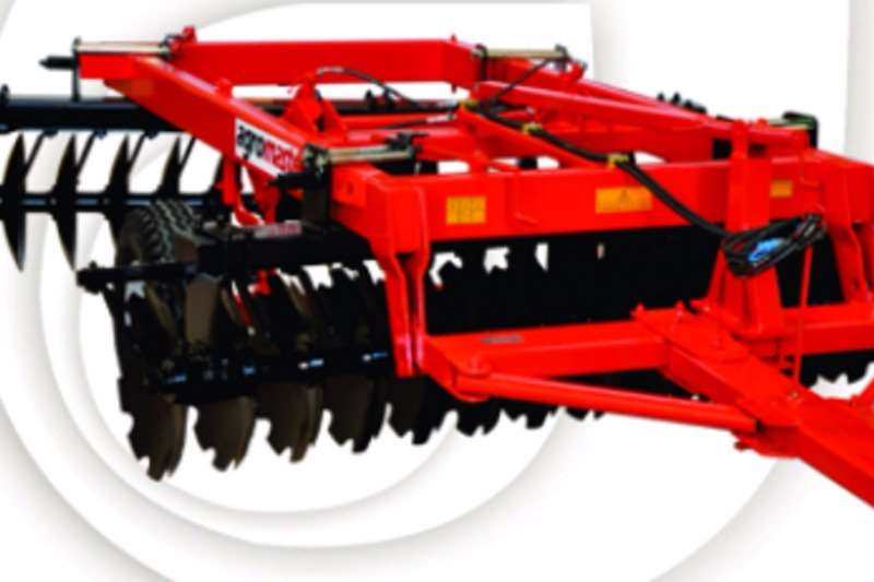 Ploughs Agromaster Hydraulic 52 Disc Harrow 0