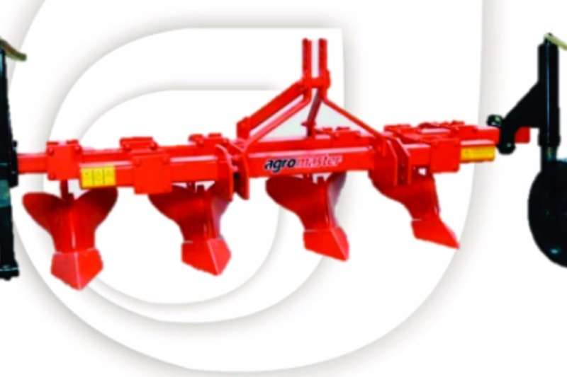 Ploughs Agromaster Mouldboard Ridger 5 Body with wheels 0