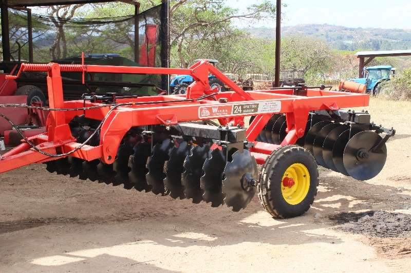 Disc harrows New hydraulic 20 & 24 disc harrow Ploughs, cultivators, discs