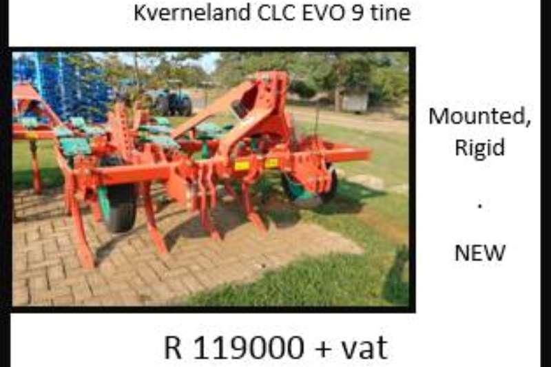 Kverneland Kverneland CLC Evo 9 Tine Ploughs, cultivators, discs
