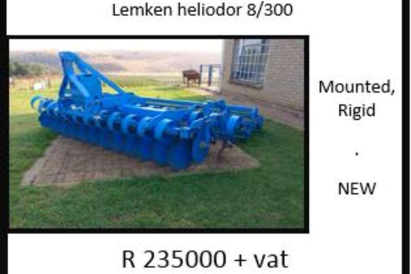 LEMKEN Lemken Heliodor 8/300 Ploughs, cultivators, discs