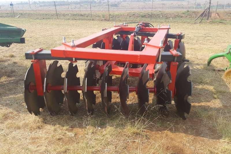 Other Disc harrows medium duty hydraulic disc harrow 18 discs Ploughs, cultivators, discs