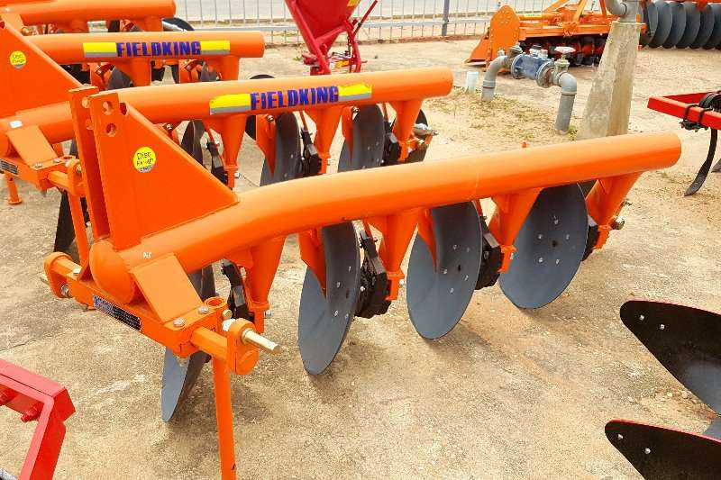 Other Fieldking 4 Furrow Ploughs, cultivators, discs