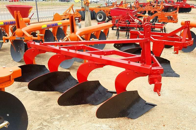 Other Fieldking Disc plough  4 Furrow Ploughs, cultivators, discs