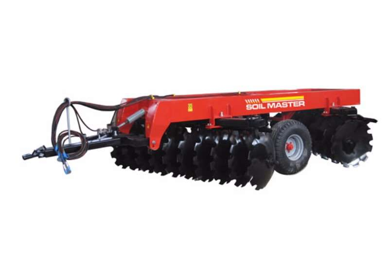 Soil Master Disc Harrow Ploughs, cultivators, discs