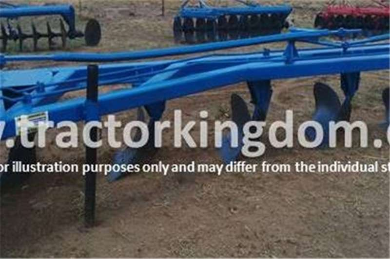 Ploughs Other 5 Furrow Beam Plough 0