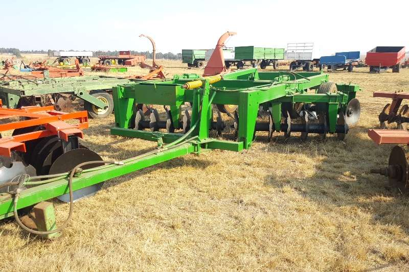Ploughs Other Disc Harrows Heavy duty hydraulic disc harow 28 disc 0