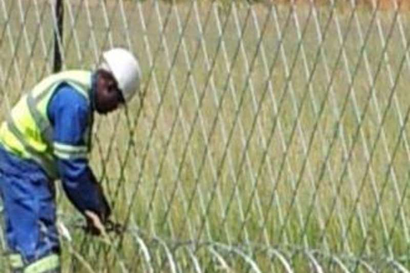 Services Installations of various fencing materials 2017