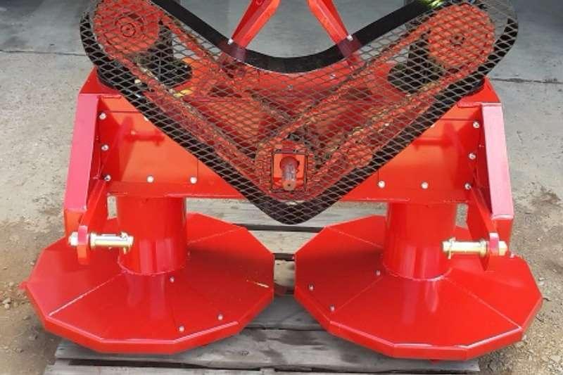 Graanland Twin Drum mower Slashers, silage cutters & trailers