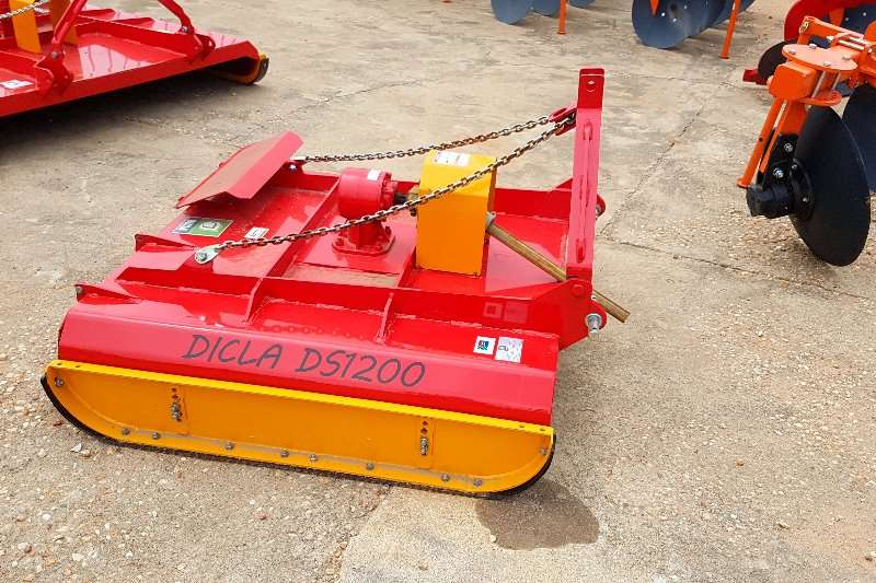 Other Dicla Ds 1200 = 1.2m heavy duty Slashers, silage cutters & trailers