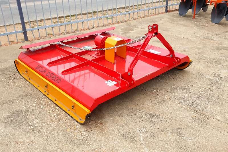 Other Dicla Ds 1800 = 1.8m heavy duty Slashers, silage cutters & trailers