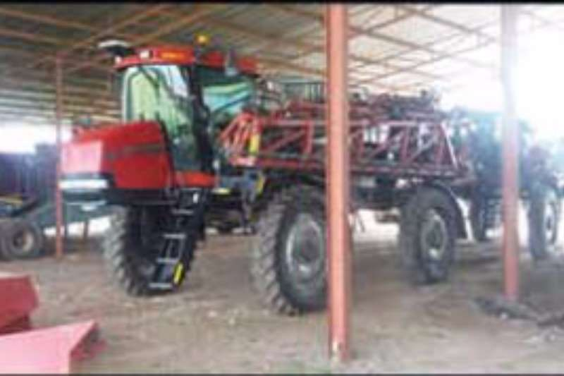 Case 4420 Patriot Sprayers and spraying equipment