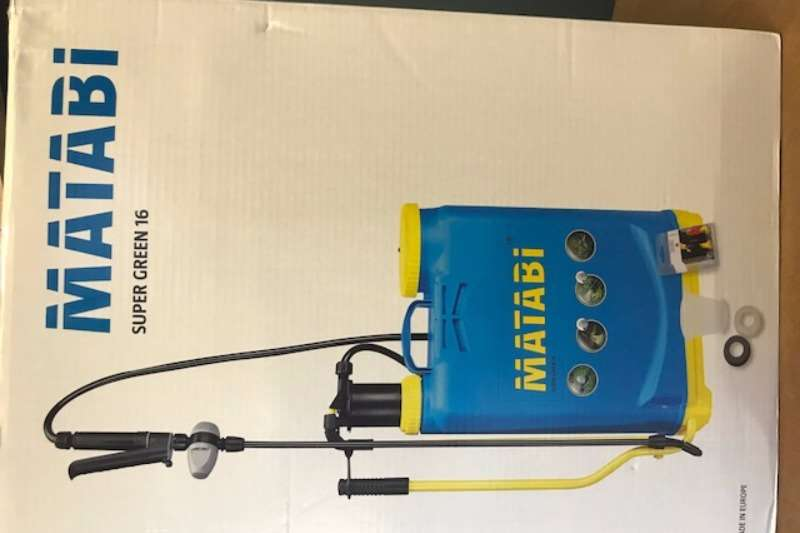 Sprayers and Spraying Equipment Other Knapsacks Matabi 2017