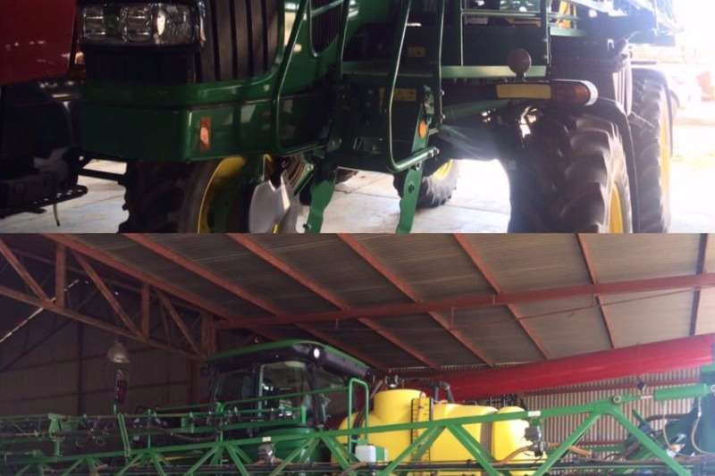Spraying Equipment John Deere WIDE SPRAY 4630 2012
