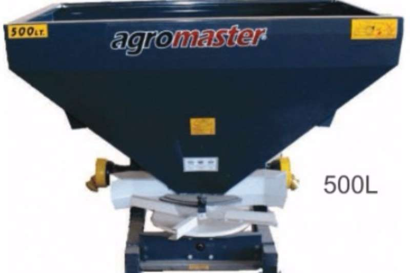 Spreaders-Fertiliser, Lime, Manure Fertilizer Spreaders Agromaster 500 l 0