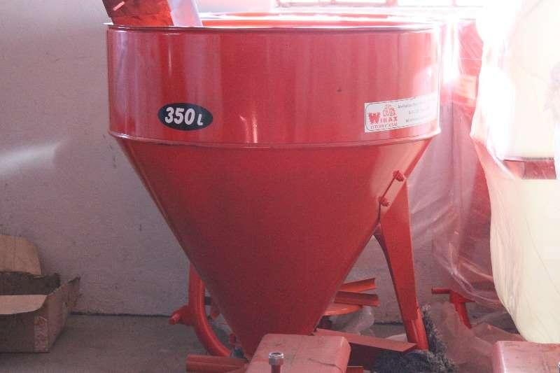 New 350lt Fertilizer spreader Spreaders-Fertiliser, lime, manure