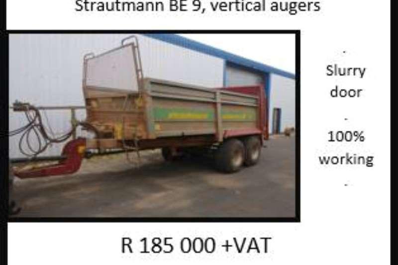 Other Strautmann BE 9 Spreaders-Fertiliser, lime, manure