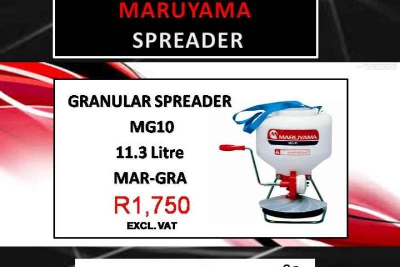 Other spreaders MARUYAMA GRANUAL SPREADER Spreaders