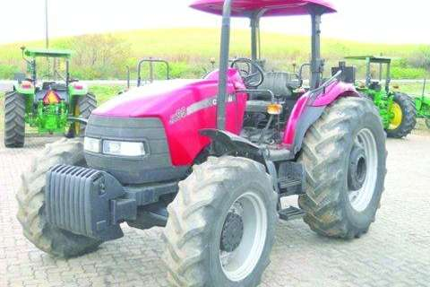 Tractors Case Case JX 95 (mfwd)- 2005