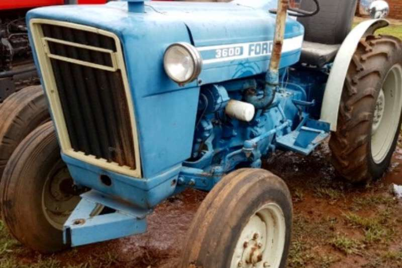 Tractors Ford 3600 0