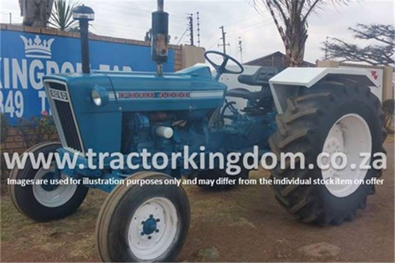 Tractors Ford 4000 Tractor 0