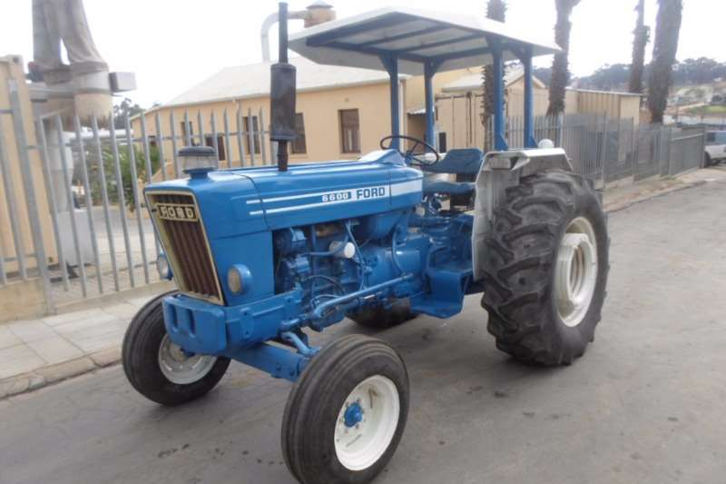 Tractors Ford 6600 1998
