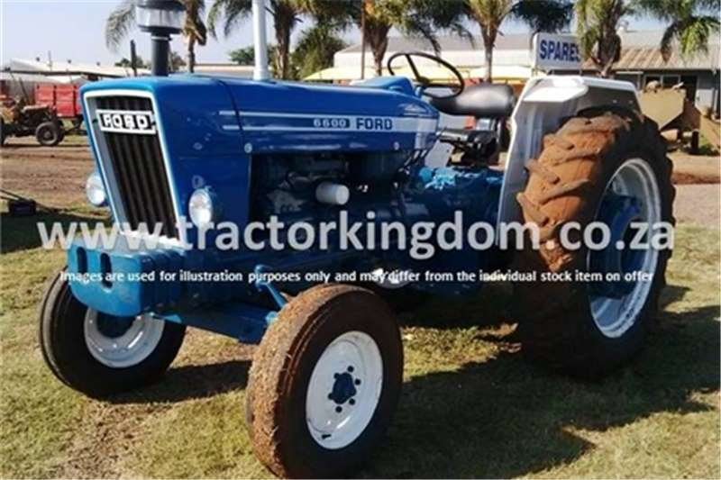 Tractors Ford 6600 Tractor 0