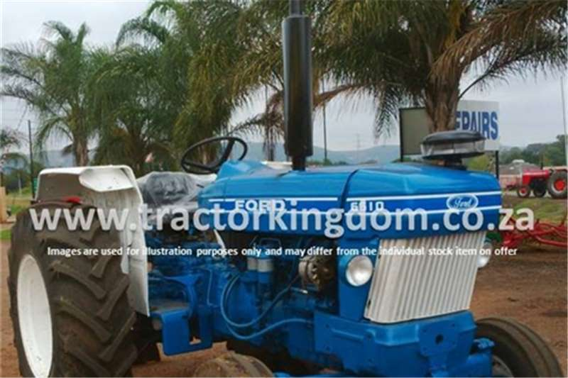 Tractors Ford 6610 Tractor 0