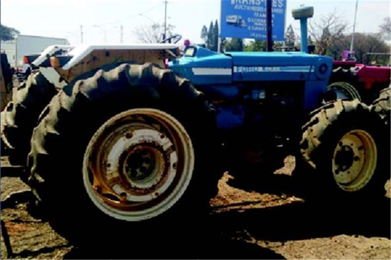 Tractors Ford 7600 Turbo 4 X 4 0