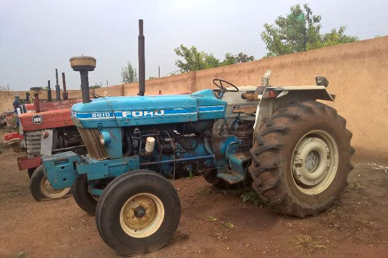 Tractors Ford Ford 6610 0