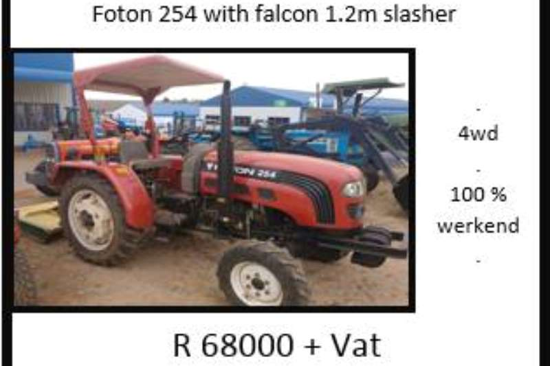 Foton Foton 254 with Falcon Tractors