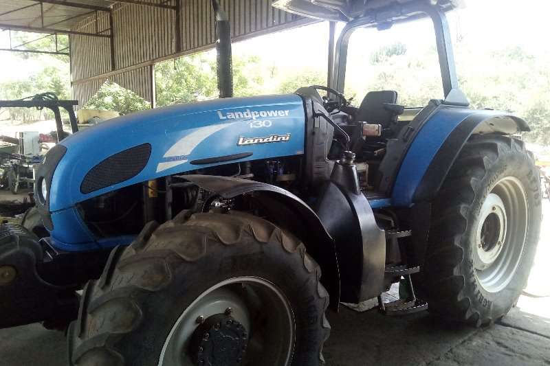 Landini Four wheel drive tractors Landini Landpower 130 4wd tractor Tractors