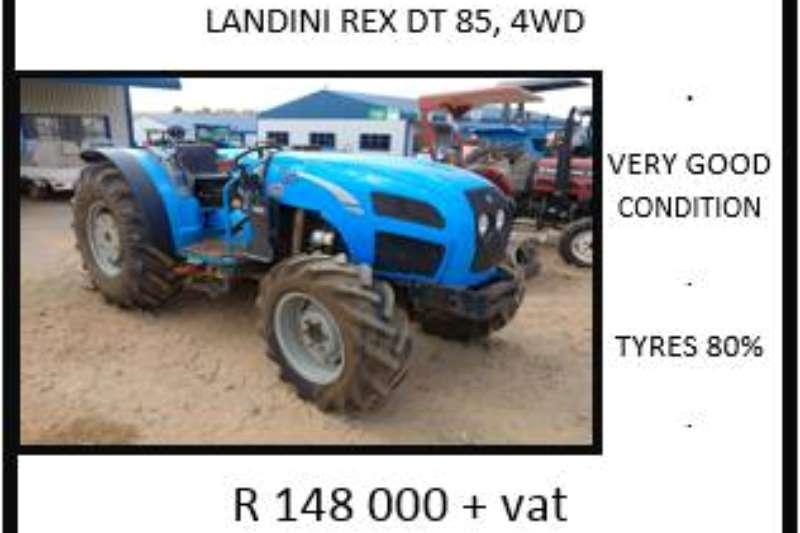 Landini Landini Rex DT 85 Tractors