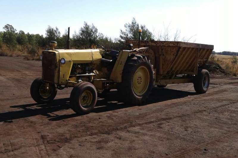 Massey Ferguson 290 with Shawnee Poole Tip Trailer Tractors