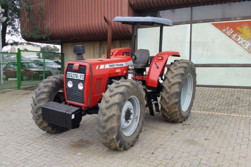 Tractors Massey Ferguson 460 - 4x4 - New Clutch - Serviced 2008