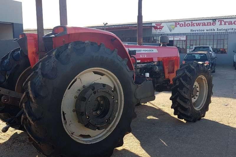 Massey Ferguson Four wheel drive tractors 475 4WD TRACTOR Tractors
