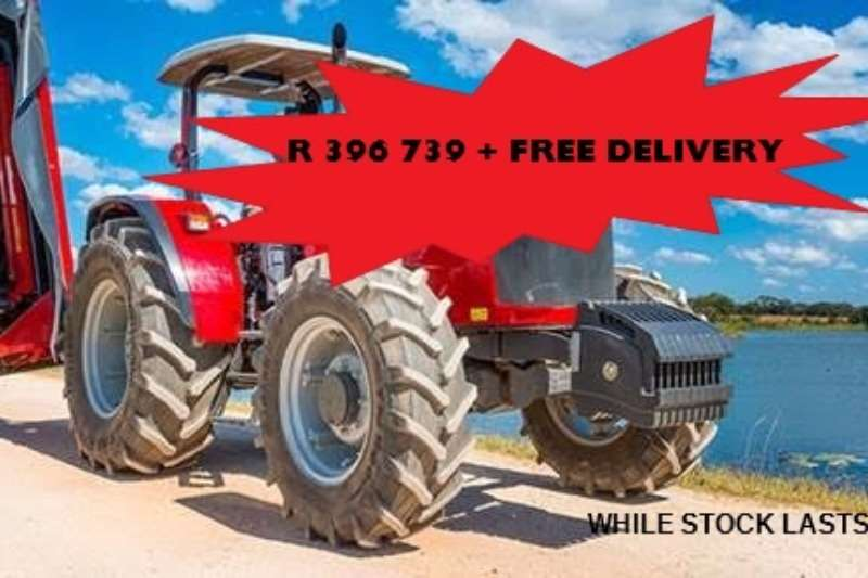 Massey Ferguson Four wheel drive tractors Limited stock special! 4708 4WD 61 kW NEW Tractors