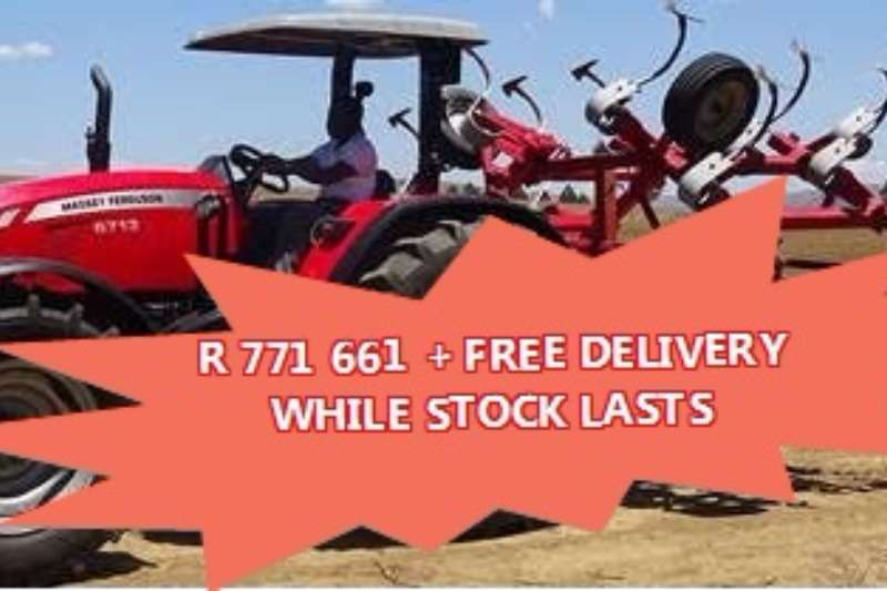 Tractors Massey Ferguson Limited stock special! 6713 4WD PS 98 KW 2017