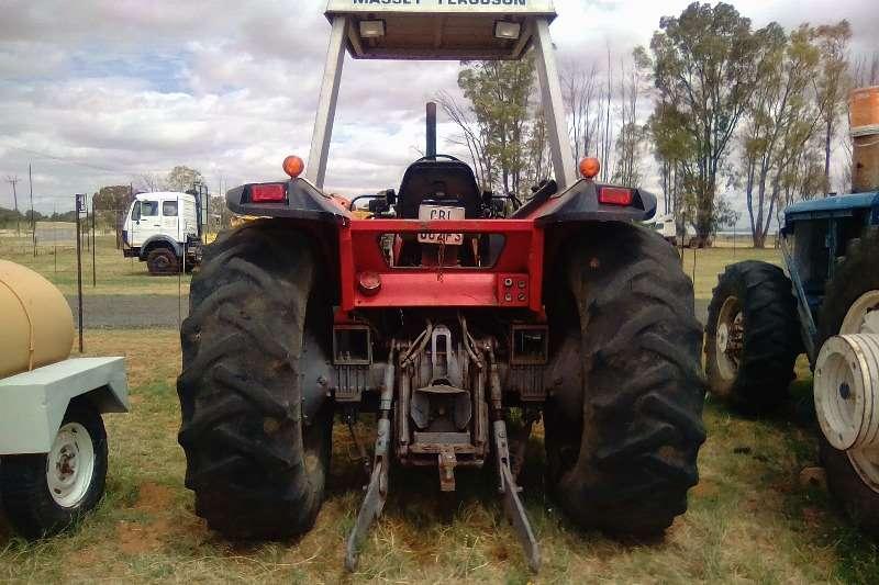Massey Ferguson MF 650 Tractor Tractors