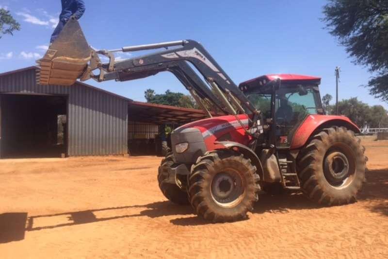 Tractors Mccormick MTX15 + Laaigraaf 2014