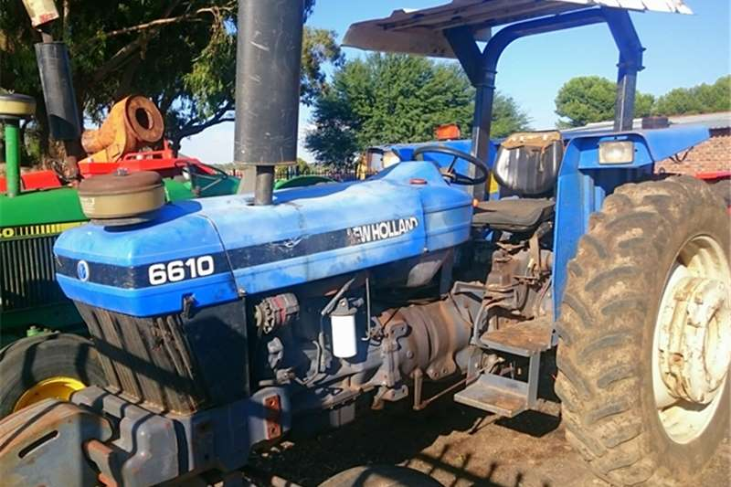Tractors New Holland 6610 0