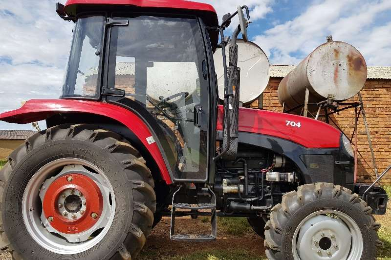 4 Wheel Drive Farm Tractors : Other new closed cab tractor no papers four