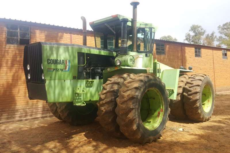 Tractors Other Steiger Cougar 270 0