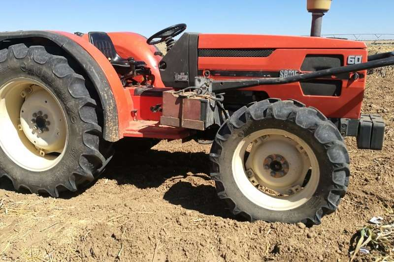 SAME 60 4 WD BOORD Tractors